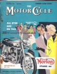 MOTOR CYCLE - MOTORCYCLE MAGAZINE - LONDON SHOW GUIDE - 8TH NOVEMBER 1956 - M2321